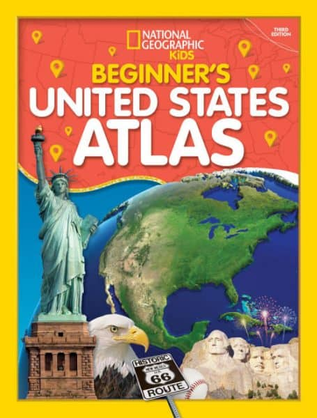 Beginner's United States Atlas ideal for young kids
