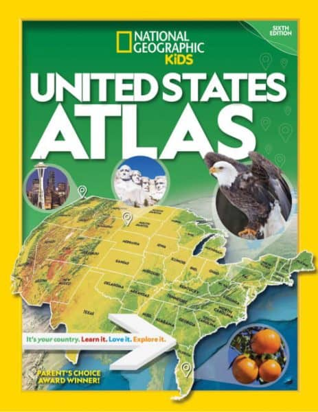 United States Atlas allows kids to get familiar with the country