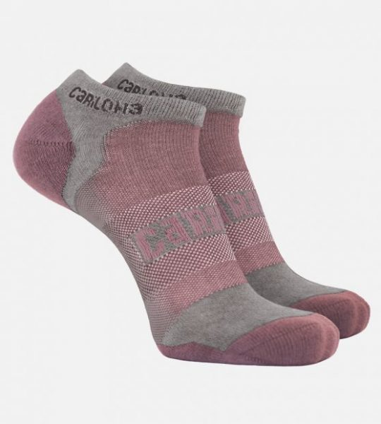 Cariloha Athletic socks in Rosewater