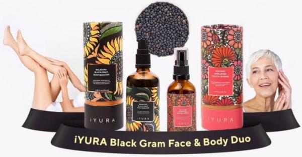 iYura Black Gram Face & Body Duo