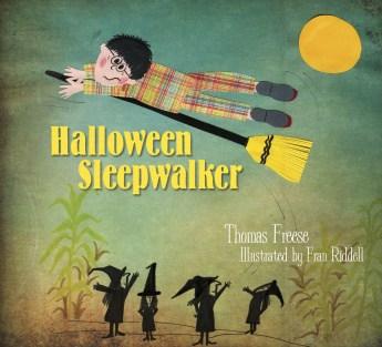 Halloween Sleepwalker storybook