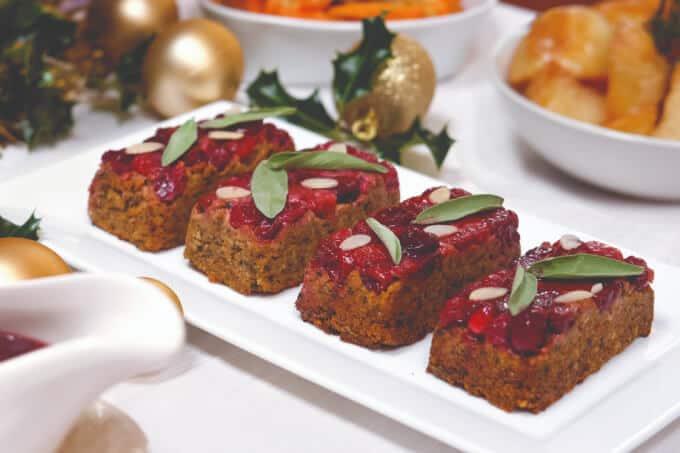 Individual Luxury Festive Roasts Vegan Holiday Recipe