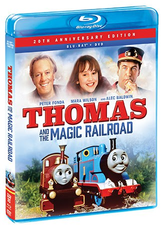 Thomas and the Magic Railroad Blu-ray/DVD