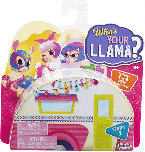 Who's Your Llama toy