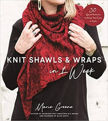 Knit Shawls pattern book
