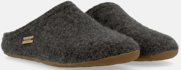 Haflinger Everest slippers in grey