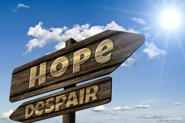 Hope and despair - pixabay