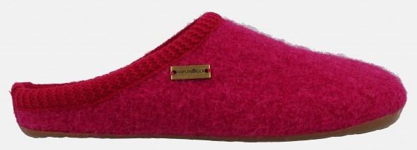Haflinger Everest slippers red