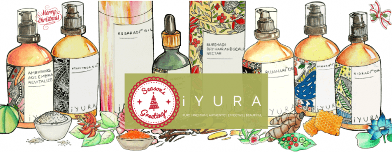 iYura, Pure, Organic, Premium, Effective Ayurvedic Skincare Collection for the Holidays!