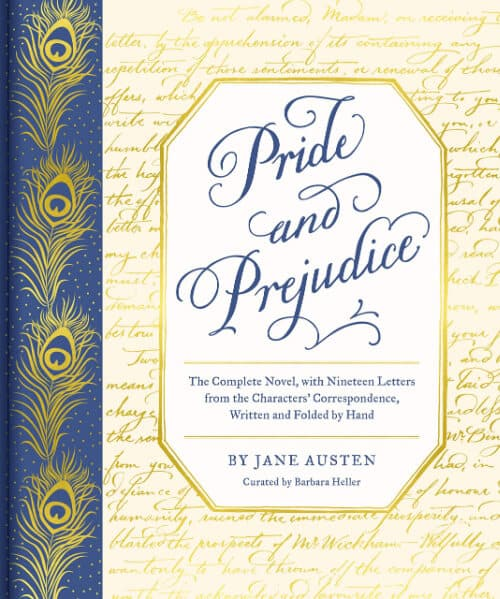 Pride and Prejudice storybook. Reading is an enriching activity.