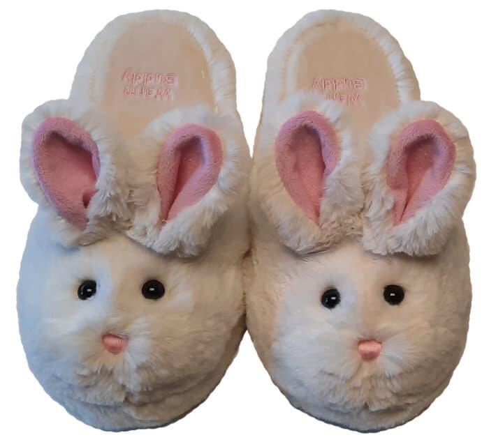 Warm Buddy Plush Bunny Slippers