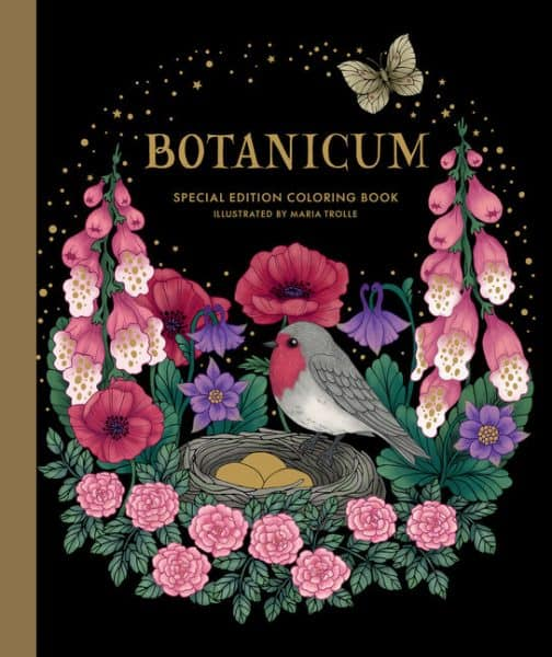 The Botanicum Special Edition coloring book