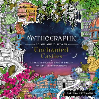 Mythographic Enchanted Castles coloring book