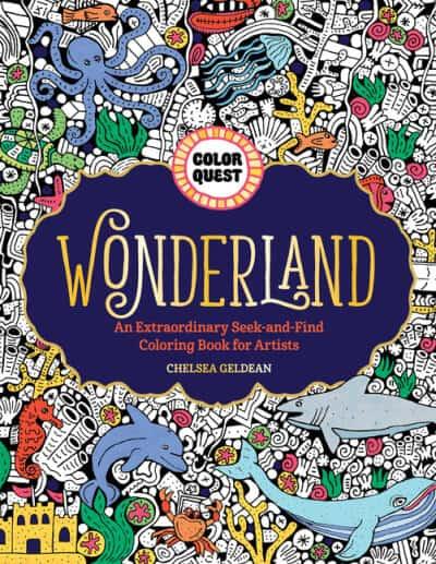 Color Quest Wonderland coloring book