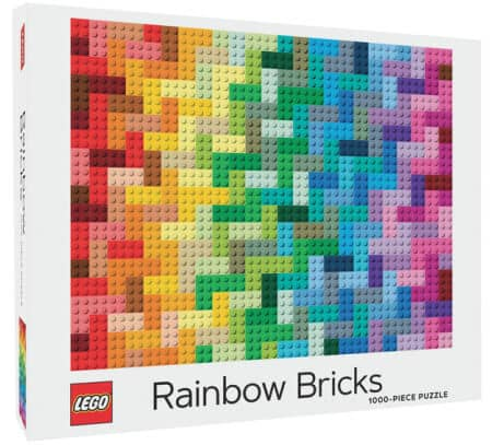 LEGO Rainbow brick puzzle