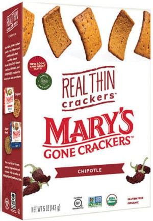 Mary's Real Thin Crackers Chipolte