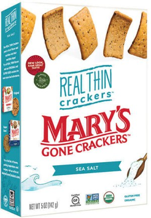 Mary's Real Thin Crackers Sea Salt