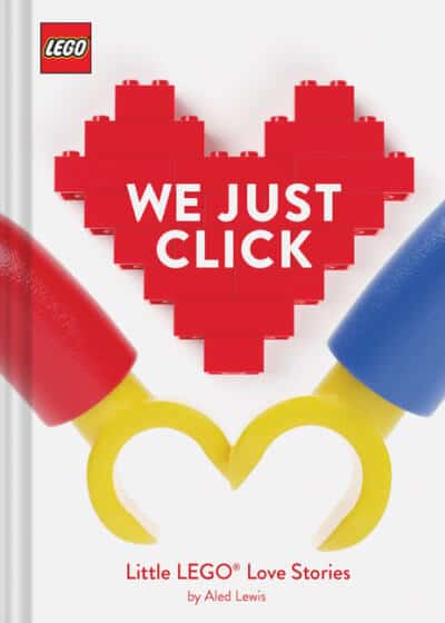 LEGO We Just Click love book