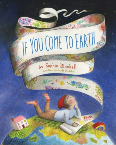 If You Come to Earth storybook