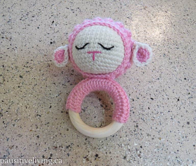 Crocheted Rattles for Baby
