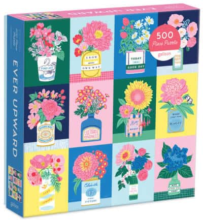 Flower puzzle for Mother's Day