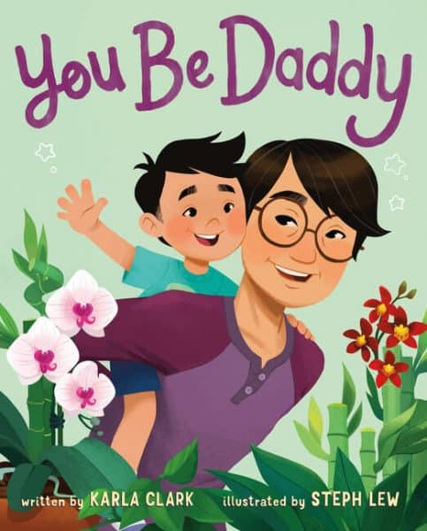 You be Daddy Father's day storybook