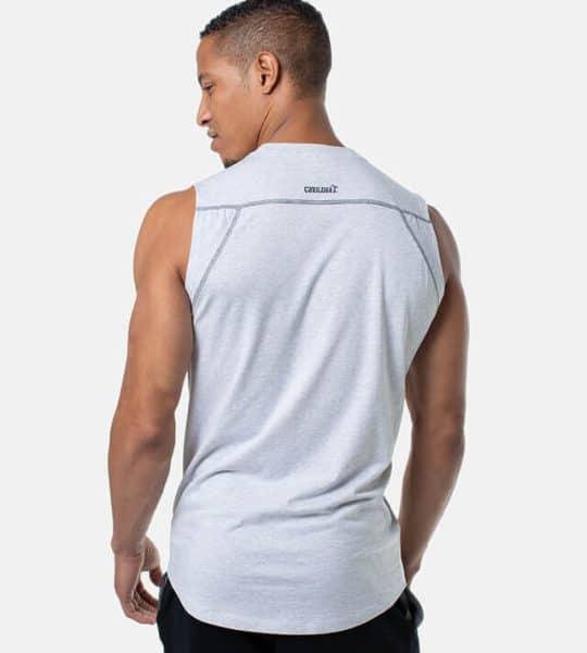 Cariloha Sleeveless Shirt in white