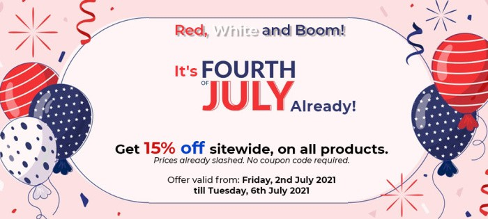 It's the 4th of July Ayurveda Sale!