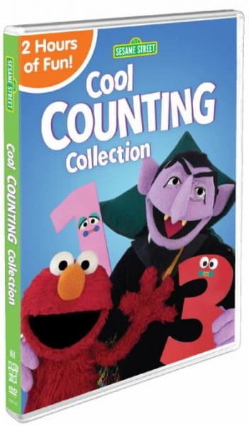Sesame Street Cool Counting Collection DVD