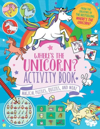 Kid's Unicorn Activity Books