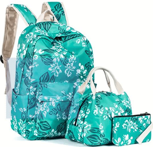 Green Backpack Set