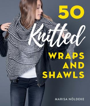 50 Knitted Wraps and Shawls knitting Patterns