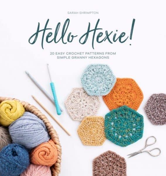 Hello Hexie! crochet book.