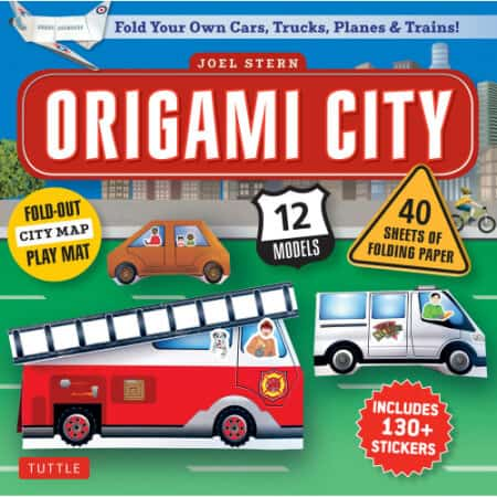 Origami Planes, Trains, Automobiles & More