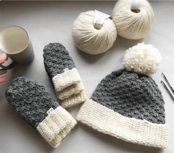 Jesse Hat and Mitten pattern