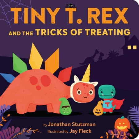 Tiny T. Rex Trick or Treating storybook
